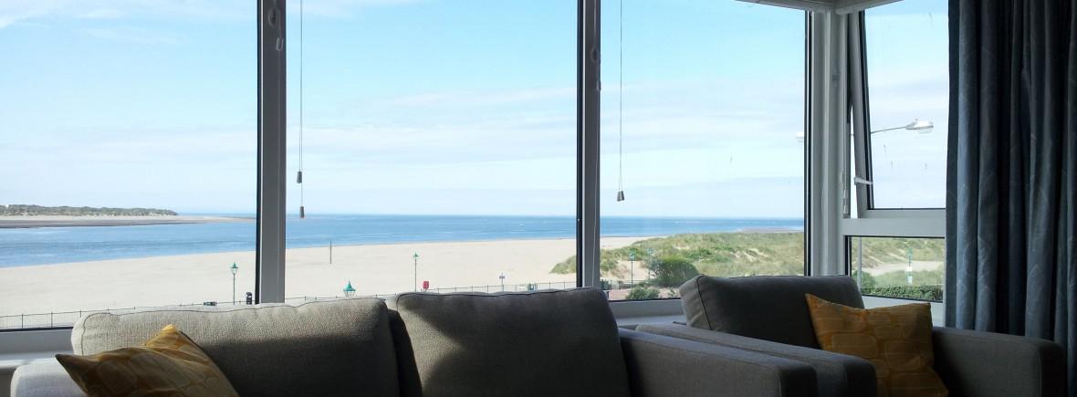 Wonderful sea views over aberdovey